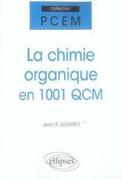 La Chimie Organique En 1001 Qcm - Intérieur - Format classique