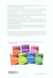 La Chimie Organique En 1001 Qcm - 4ème de couverture - Format classique