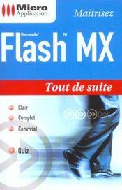 Flash MX - Intérieur - Format classique