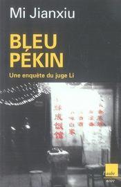 Bleu pékin - Intérieur - Format classique