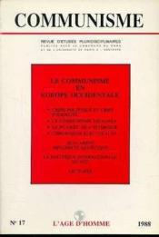 C17 Communisme 1988 - Couverture - Format classique