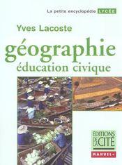 Education civique - Intérieur - Format classique