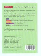 Education civique - 4ème de couverture - Format classique