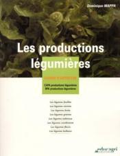 Les productions legumieres - Couverture - Format classique
