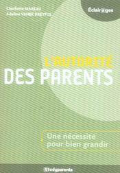 L'autorite des parents - Intérieur - Format classique