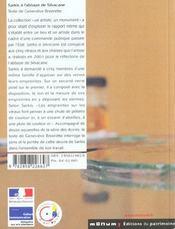 Sarkis A Silvacane - 4ème de couverture - Format classique