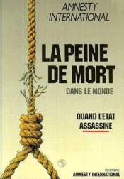 La peine de mort - Couverture - Format classique