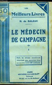 Le Medecin De Campagne - Tome 1 - Couverture - Format classique
