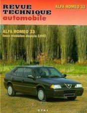Rta 090.3 Alfa 33 (Depuis 1990) - Couverture - Format classique