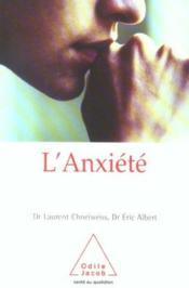 L'Anxiete - Couverture - Format classique