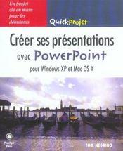 Creer ses presentations powerpoint - Intérieur - Format classique