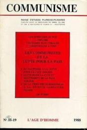 C18/19 Communisme 1988 - Couverture - Format classique