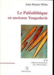 Le Paleolithique En Ancienne Yougoslavie - Couverture - Format classique