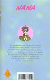 Nana t.4 - 4ème de couverture - Format classique