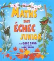 Maths sans échec junior - Couverture - Format classique