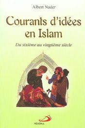 Courants d'idees en islam - Intérieur - Format classique