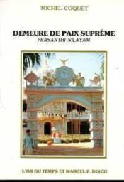 Demeure De Paix Supreme - Couverture - Format classique