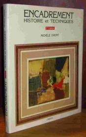 Encadrement histoire et techniques 4eme edition - Couverture - Format classique