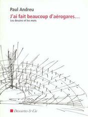 J'Ai Fait Beaucoup D'Aerogares - Intérieur - Format classique