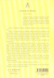 Livre Du Maitre - 4ème de couverture - Format classique
