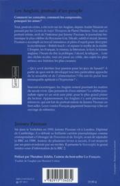 Les Anglais, Portrait D Un Peuple - 4ème de couverture - Format classique