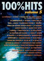 100% hits volume 5 - Couverture - Format classique