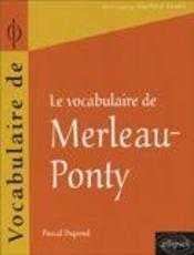 Merleau-Ponty - Intérieur - Format classique