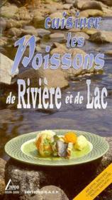Cuisiner les poissons de riviere et de lac - Couverture - Format classique