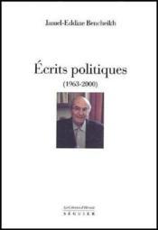 Écrits politiques (1963-2000) - Couverture - Format classique