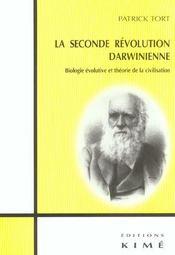 Seconde revolution darwinienne (la) - Intérieur - Format classique