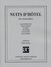 Nuits d'hotel - Couverture - Format classique