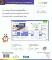 Windows Xp Techniques Avancees - 4ème de couverture - Format classique