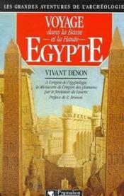 Voyages dans la Basse et Haute-Egypte - Couverture - Format classique