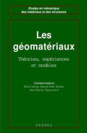 Les geomateriaux volume 3 avancees recentes en calcul d'ouvrages coll etudes en mecanique des materi - Couverture - Format classique