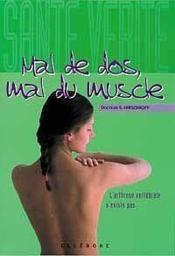 Mal De Dos. Mal Du Muscle - Couverture - Format classique