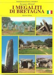 Megaliti Di Bretagna - Couverture - Format classique