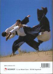 Aïkido. progression technique du 6e kyu au 1er dan - 4ème de couverture - Format classique