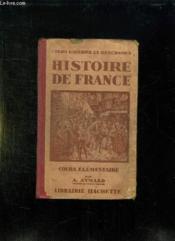 Histoire De France. Cours Elementaire. - Couverture - Format classique