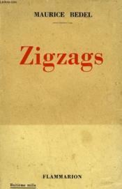 Zigzags. - Couverture - Format classique