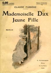 Mademoiselle Dax Jeune Fille. Collection : Select Collection N° 34 - Couverture - Format classique