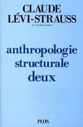 Anthropologie structurale t.2 – Claude Levi-Strauss