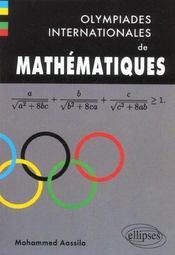 Olympiades Internationales De Mathematiques - Intérieur - Format classique