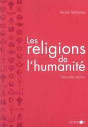 Les Religions De L'Humanite - Intérieur - Format classique