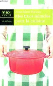 Trucs Miracles Pour La Cuisine - Couverture - Format classique