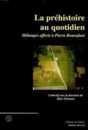 Prehistoire Au Quotidien (La) - Couverture - Format classique
