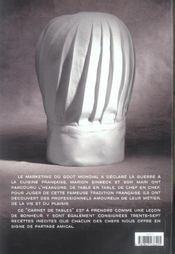 Carnet De Tables - 4ème de couverture - Format classique