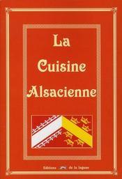 La cuisine alsacienne - Intérieur - Format classique