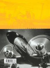 Un siècle d'aviation - 4ème de couverture - Format classique