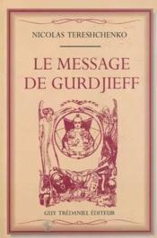 Message de gurdjieff (le) - Couverture - Format classique