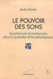 Pouvoir Des Sons - Couverture - Format classique